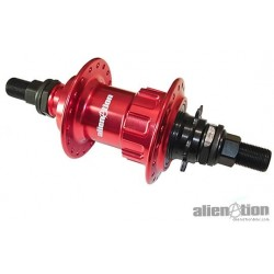 Piasta tył BMX ALIENATION RUSH V2 9T RSD 36 otw. red