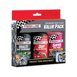 Zestaw FINISH LINE Value Pack 3x120ML