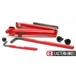Mechanizm korbowy BMX EASTERS BIKES CRANKS Red 175mm